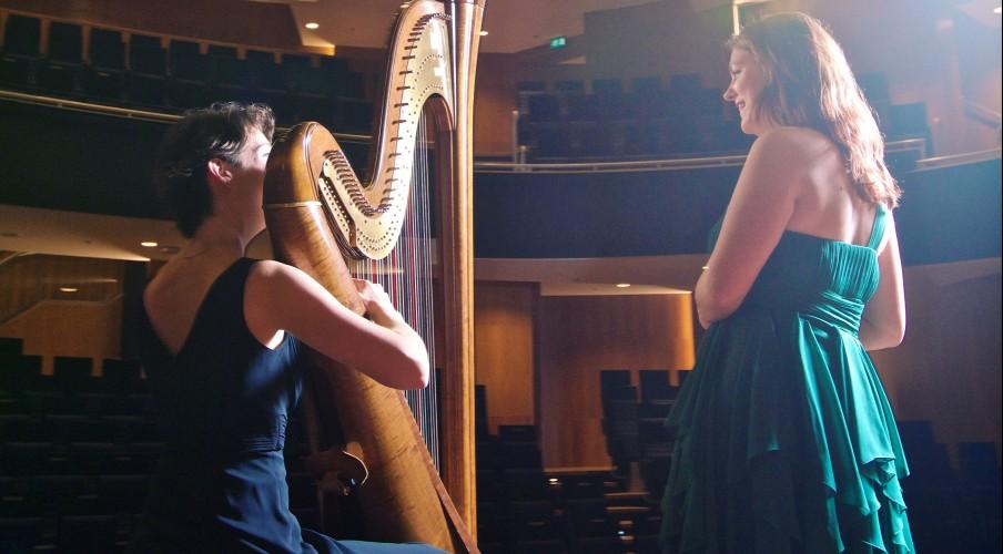 beate loonstra harpiste